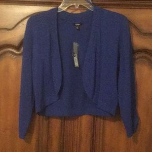 Royal. Blue New With Tags Shrug